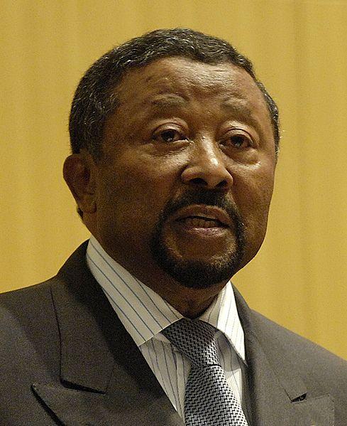 Le président de la commision de l'Union Africaine Jean Ping