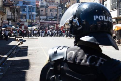 Tir à vue sur les manifestants le 24 avril à Antananarivo